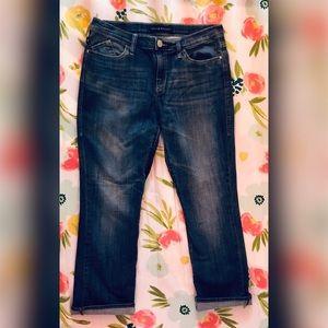 Rock & Republic capri's  size 12 blue jeans
